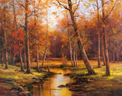 Meadow Stream by T. C. Chiu
