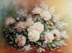 Peonies Bouquet by T. C. Chiu