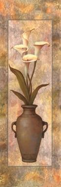 Potted Orchid Panel by T. C. Chiu
