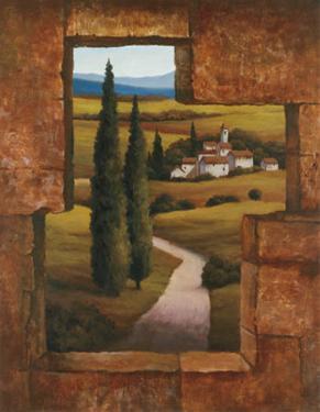 Tuscan Villa I by T. C. Chiu