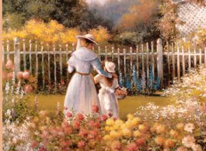 Victorian Garden by T. C. Chiu