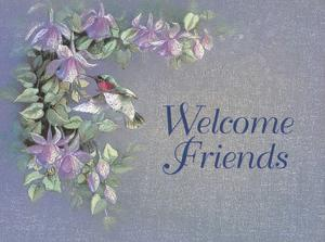 Welcome Friends by T. C. Chiu