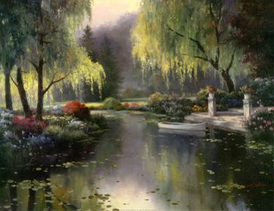 Willow Park Lake by T. C. Chiu