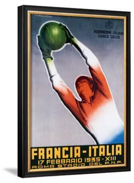 Francia-Italia Football, 1935 by T. Corbella