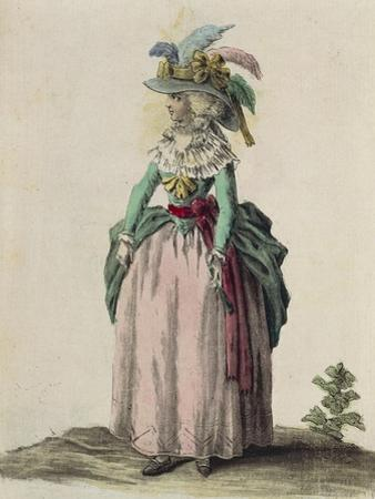 Middle-Class Woman from London, 1787