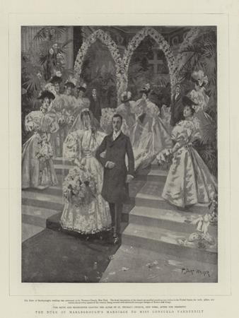 The Duke of Marlborough's Marriage to Miss Consuelo Vanderbilt