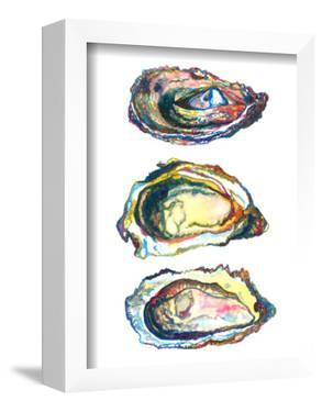 3 Oyster Shells by T.J. Heiser