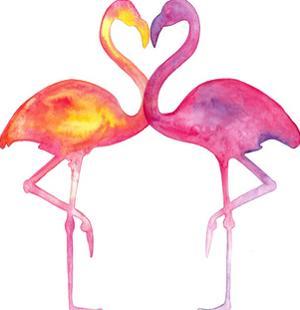 Flamingo Love by T.J. Heiser