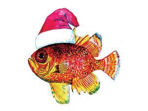 Santa Fish 2 by T.J. Heiser