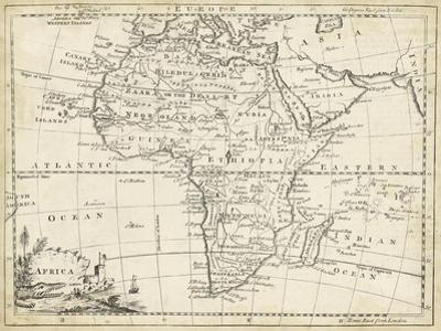 Map of Africa by T. Jeffreys
