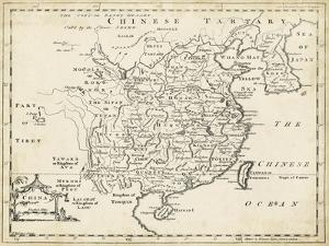 Map of China by T. Jeffreys