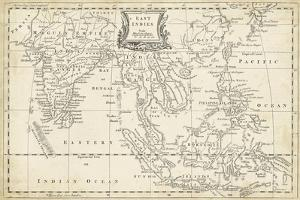 Map of East Indies by T. Jeffreys