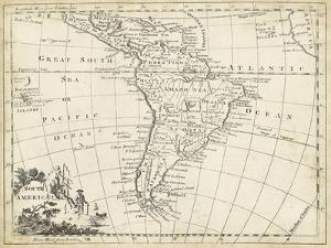 Map of South America by T. Jeffreys