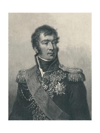 'Marshal August-Frédéric-Louis Viesse De Marmont, Duke of Ragusa', c1810, (1896).