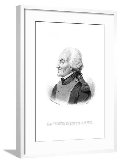T M C La Tour D'Auvergne--Framed Giclee Print