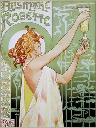 T Privat-Livemont Absinthe Robette Art Print Poster