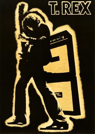 T. Rex Electric Warrior Music Poster Print