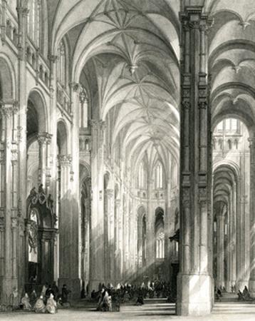 Paris, France - Eglise Saint Eustache