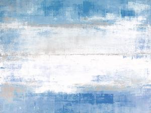 Blue and Grey Abstract Art Painting by T30 Gallery