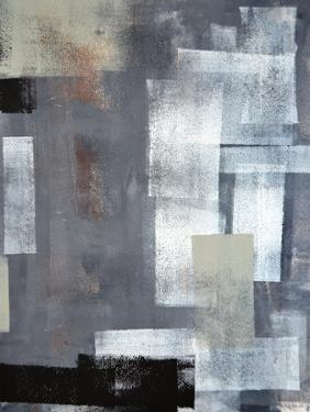 Green And Grey Abstract Art Painting by T30Gallery