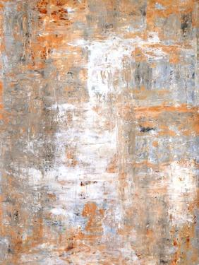Grey and Beige Abstract Art Painting by T30Gallery