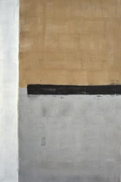 Grey And Brown Abstract Art Painting by T30Gallery