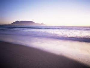 Table Mountain, Cape Town, Cape Province, South Africa, Africa by I Vanderharst