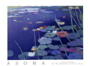Lily Pond by Tadashi Asoma