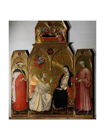 Annunciation and Saints