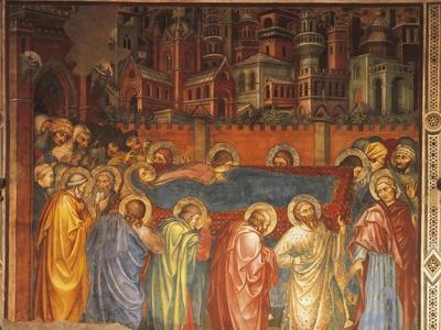 Funeral of Virgin, Scene from Life of Virgin, 1406-1408