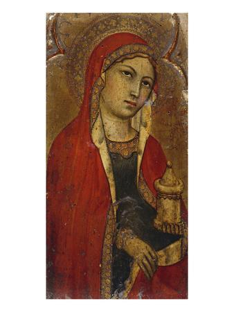 St Mary Magdalene - a Fragment from an Altarpiece