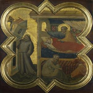 Dream of Pope Innocent III by Taddeo Gaddi