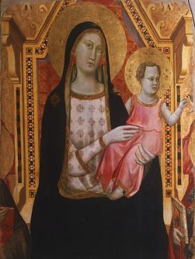Madonna with Child by Taddeo Gaddi