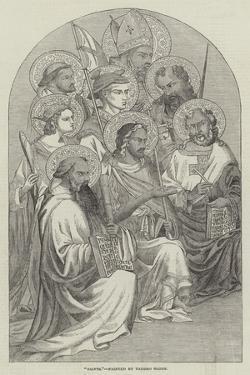 Saints by Taddeo Gaddi