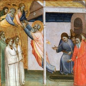Scene from the Life of St John, C1320-1366 by Taddeo Gaddi
