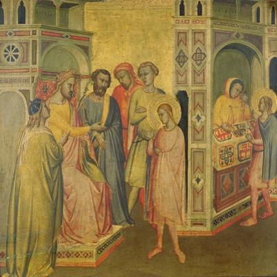 St. Eligius before King Clothar, C.1365