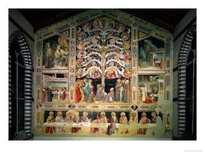 The Tree of Life and the Last Supper, 1360 by Taddeo Gaddi