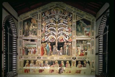 The Tree of Life and the Last Supper, 1360