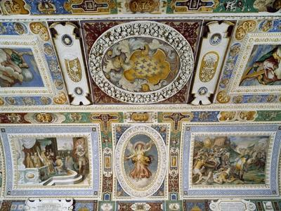 Detail from Ceiling of Hall of Farnesina Magnificence