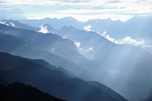 Himalayan Mountains by Tai Prints