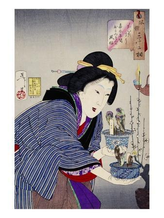 Looking as if She Wants to Change: The Appearance of a Proprietress of the Kaei Era