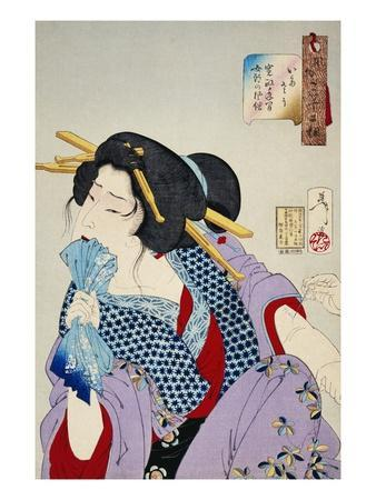 Looking in Pain: The Appearance of a Prostitute of the Kansei Era