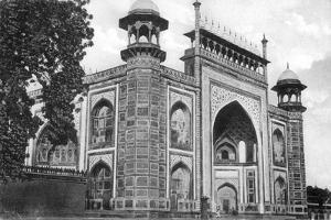 Taj Mahal Gate, Agra, 20th Century