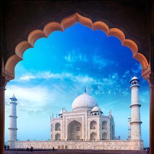 Taj Mahal Palace from Mosque