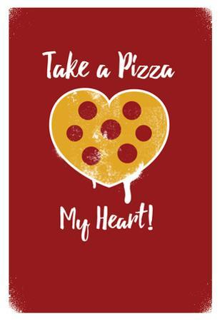 Take A Pizza My Heart - Red