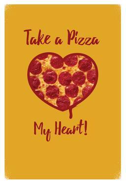 Take A Pizza My Heart - Yellow