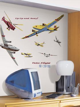 Take Flight Peel & Stick Wall Decal MegaPack