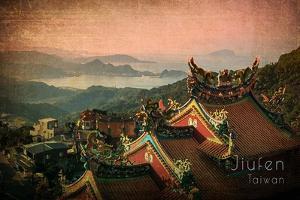 Vintage Jiufen, Taiwan, Asia by Take Me Away