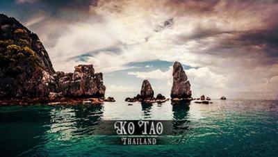 Vintage Ko Tao, Thailand, Asia by Take Me Away