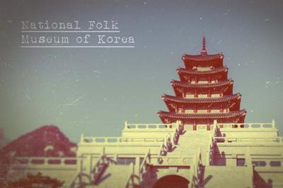 Vintage National Folk Museum of Korea, Asia by Take Me Away